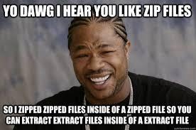 Zip Meme - xzibit meme memes quickmeme
