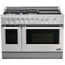 48 Inch Cooktop Gas Dcs Professional 48 Inch 5 Burner Natural Gas Range With Griddle