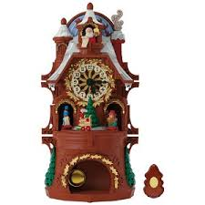 2017 santa s cuckoo clock ornament hooked on hallmark