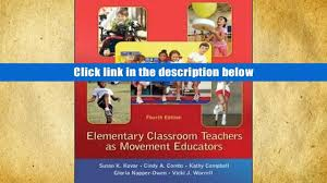 pdf elementary classroom teachers as movement educators susan k
