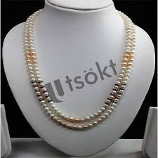 pearls necklace real images Real pearls rice pearls jewelry strung with a difference jpg