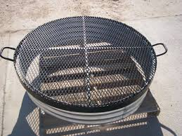 Fire Pit Mat by Galvanized Steel Ring For Fire Pit Fire Pits Pinterest
