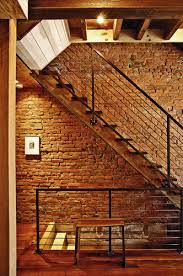 Brick Stairs Design Staircase Design Exposed Brick Behind Stairs Dream Home