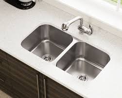 lowes double kitchen sink kitchen charming undermount stainless steel kitchens lowes gauge