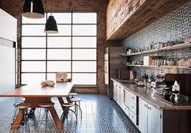 cuisine chaleureuse grande cuisine vintage en bois chaleureuse