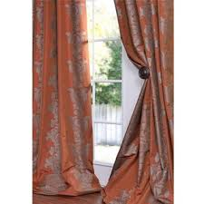 Rust Color Curtains Overstock Bring Modern Design To Your Home Decor With This