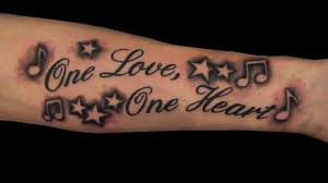 lyrics stars and music note tattoo chris hatch tattoo art u2026 flickr