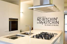 kitchen design wall art stickers inspirational quotes backsplash