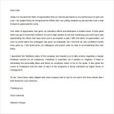 thank you letters for appreciation 24 exles in pdf word