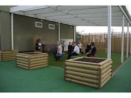 log planter box h35cm fawns playground equipment