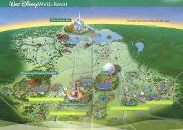 walt disney resort map walt disney resort imaginations vacations by katherine