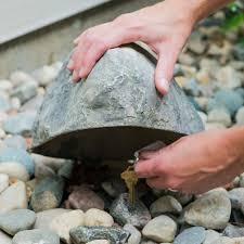 Fake Rocks For Gardens by Artificial Landscape Rocks Outdoor Essentials