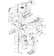 craftsman drill press parts model 12434984 sears partsdirect