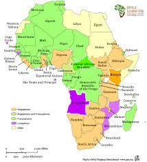 africa map study about africa leadership study