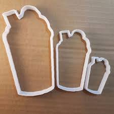 Flag Cookie Cutter Milkshake Drink Cream Cup Shape Cookie Cutter Dough Biscuit Pastry