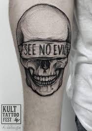 60 black and grey skull tattoos tattoos