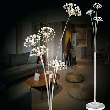 Living Room Lamps Home Depot by Floor Lamps Glass Flower Floor Lamp Homebase Black Lotus Flower