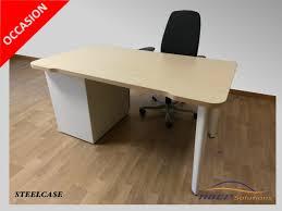 bureau droit bureau droit steelcase d occasion pas cher