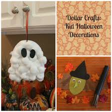 keeping up with the kiddos dollar crafts kid halloween decorations