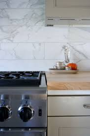 kitchen marble backsplash flower pot and wooden floor as well