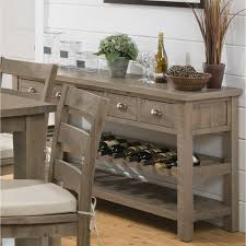 enchanting buffet with wine rack decor ideas home furniture