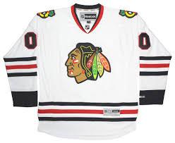 clark griswold u0027s 00 chicago blackhawks official replica jersey