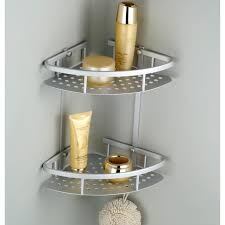Glass Bathroom Corner Shelves Bathroom Corner Shelf Glass Bathroom Corner Shelf Beautiful And