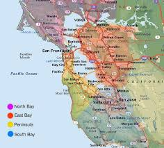 map of ta bay 22 best san francisco bay area images on bay area