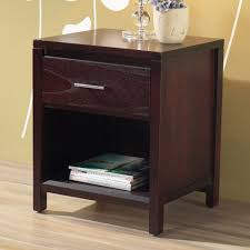 winsome night stand in espresso homeclick image on outstanding