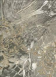 rc14074 roberto cavalli beige grey u0026 gold glitter textures