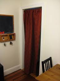 Door Way Curtains Use A Doorway Curtain To Curb Heating And Cooling Costs Drew S