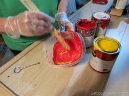 Mixing Spray Paint Colors - coral color bedroom furniture mix red u0026 yellow paint to make