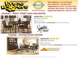 Hayley Dining Room Set Price Busters Discount Furniture Ratings