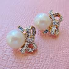 clip on earrings dublin 154 best vintage jewelry images on antique jewellery