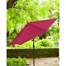 Hton Bay Patio Umbrella Hton Bay 9 Ft Aluminum Patio Umbrella Garden