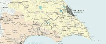Map Of Cyprus Famagusta Maps Ayia Napa Map And Protaras Map