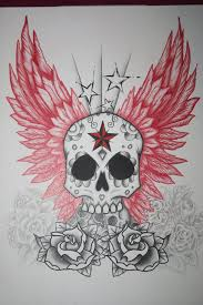 angel wing tattoo designs small 36 best skull with wings tattoo designs images on pinterest wing