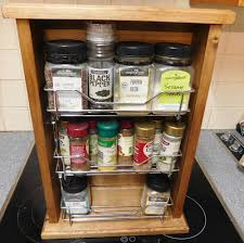 Vintage Wooden Spice Rack French Country Vintage Inspired Timber Wooden Spice Rack With