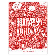 holiday christmas cards photo christmas lights decoration