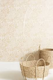 white wallpaper anthropologie