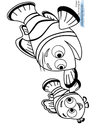 Finding Dory Coloring Pages Disney Coloring Book Nemo Color Pages
