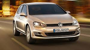 redesigned volkswagen golf revealed familiar look cloaks new