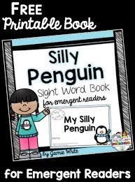 free penguin emergent reader book