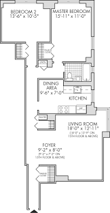 2 Wing Bedroom Triple Core