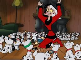 christmas cruella 101 dalmatians wiki fandom powered wikia