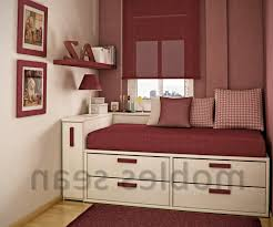 bedroom modern bed design for small with nice wardrobe
