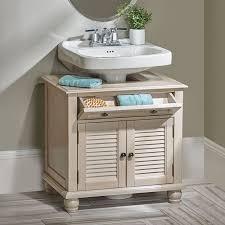 Sink Bathroom Cabinet by Best 25 Pedestal Sink Storage Ideas On Pinterest Small Pedestal