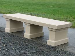 Simple Wooden Bench Small Concrete Garden Benches 63 Furniture Photo On Small Concrete