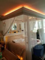Diy Canopy Bed With Lights Pin By John Fedor On Diy Canopy Bed With Color Changing Led Lights