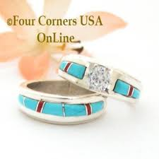 American Wedding Rings by Bridal Engagement Wedding Ring Sets Navajo Wedding Rings Four